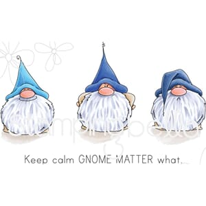 Stamping Bella: Gnomes Have Feelings Too Cling Stamps