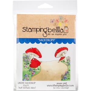 Stamping Bella: Gnome Backdrop Cling Stamps