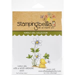 Stamping Bella: Bundle Girl With A Wood Anemone Stamps