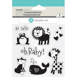 Janet Dunn:  Oh Baby! Clear Stamps