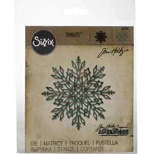 Sizzix: Flurry #2 Thinlits Dies By Tim Holtz