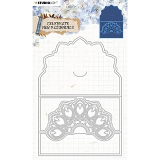 Studio Light Die - Cardshape Celebrate new beginnings 378