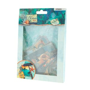 Studio Light: Ocean View nr 649 Die Cut Paper set