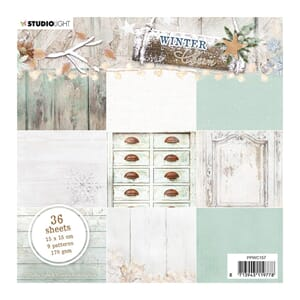 Studio Light: Winter Charm no 157 Paper Pad, 6x6, 36/Pkg