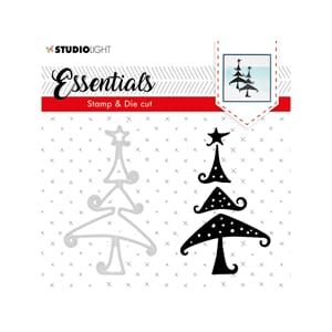 Studio Light: Essentials Christmas 36 Stamp & Dies