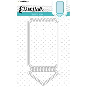 Studio Light Die - Essentials Cardshape Ticket 397