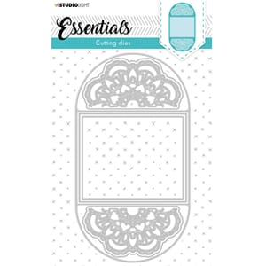 Studio Light Die - Essentials Cardshape Doily 398