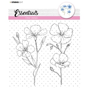 Studio Light: A5 Essentials 462 Clear Stamps