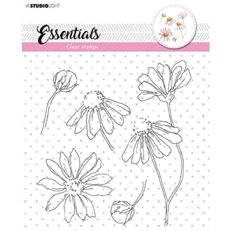 Studio Light: A5 Essentials 463 Clear Stamps