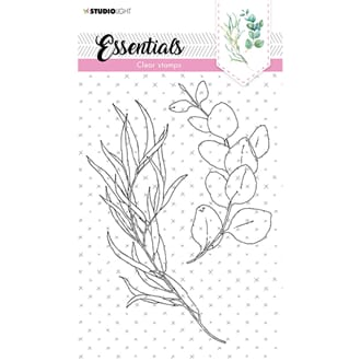 Studio Light: A5 Essentials 465 Clear Stamps