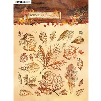 Studio Light Stamp 14x14cm: Wonderful Autumn 483