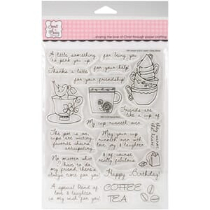 Sweet 'n Sassy: Special Blend Clear Stamps, 6x8 inch