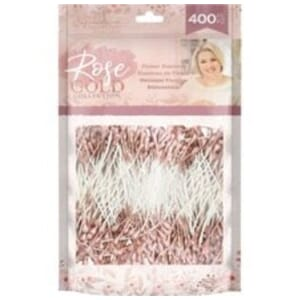 Crafter's Companion: Rose Gold Flower Stamens, 400/Pkg