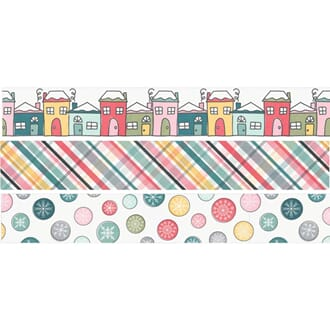 Simple Stories: Freezin' Season Washi Tape 3/Pkg