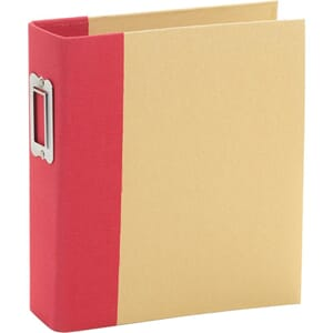 Sn@p Studio: Red - Binder 6x8 inch