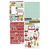 Sn@p Studio: Tis The Season - Stickers Sheets 4 4x6