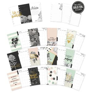 Carpe Diem Beautiful Double-Sided Personal Planner Inserts