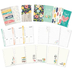 Carpe Diem Faith Double-Sided Personal Planner Inserts