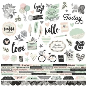Simple Stories: Beautiful Cardstock Stickers