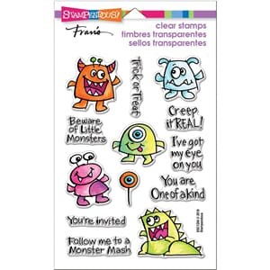 Stampendous: Little Monsters Perfectly Clear Stamps
