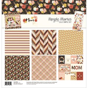 Simple Stories: Mother's Day Simple Sets Collection Kit, 12x