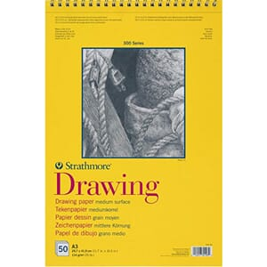 Strathmore: Drawing paper pad, 300 series, A3