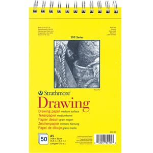 Strathmore: Drawing paper pad, 300 series, A5