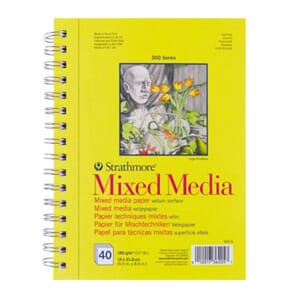 Strathmore: Mixed Media Vellum Surface, A5, 40/Pkg