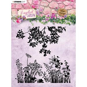 Studio Light: English Garden Background Stamp, 6x6