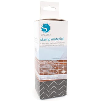 Silhouette: Stamp Material, 6x7.5inch, 3/Pkg