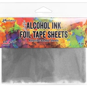 Tim Holtz: Alcohol Ink Foil Tape Sheets, 4.25x5.5 inch
