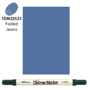 Distress Markers: Faded Jeans