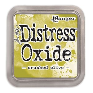 Tim Holtz: Crushed Olive  -Distress Oxides Ink Pad
