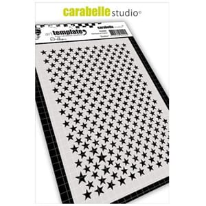 Carabelle: Stencil A6 - Stars by Alexi