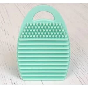 Taylored Expressions: Teal Blender Brush Cleaning Tool