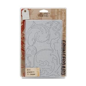 Tim Holtz: Grungeboard, Elements Tiny Dots - Idea-Ology