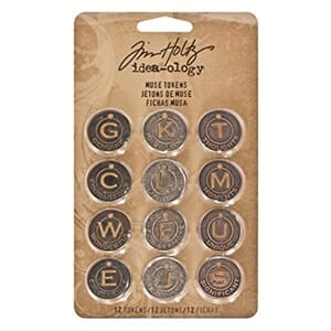 Tim Holtz: Christmas - Idea-Ology Metal Muse Tokens