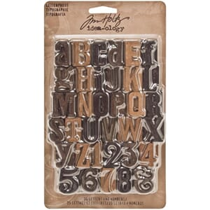 Tim Holtz: Letterpress Findings - Idea-Ology