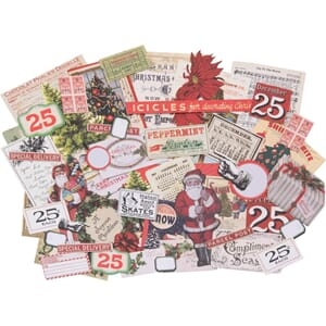 Idea-Ology: Christmas Ephemera Pack, 58/Pkg