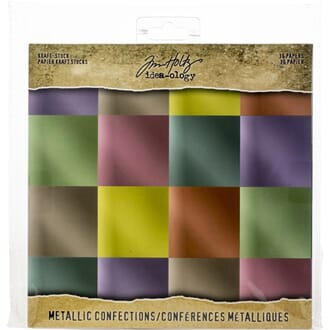 Idea-Ology: Confections Paper Stash Kraft Metallic Paper Pad