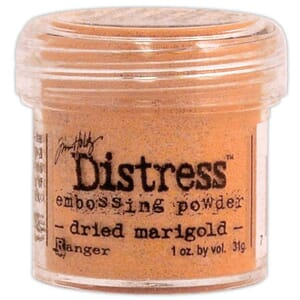 Distress Embossing pulver - Dried Marigold