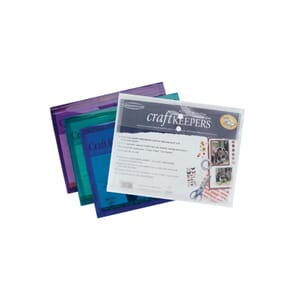 Tops: Craft Keepers Snap Closure Envelope, lettersize