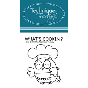 Technique Tuesday: Chef Owl Clear Stamps
