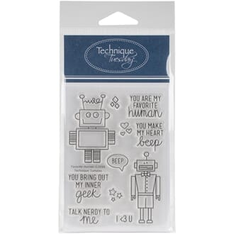 Technique Tuesday: Favorite Human Clear Stamps