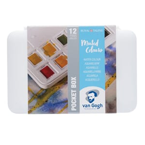 Van Gogh Akvarell - Pocketbox Muted colours