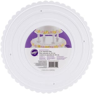 Wilton: Decorator Preferred Separator Plate, 12 inch