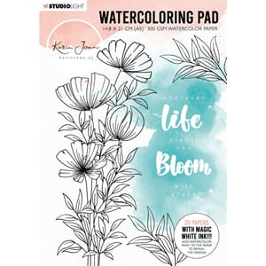 Studio Light: Karin Joan Blooming Collection Watercolor Pad