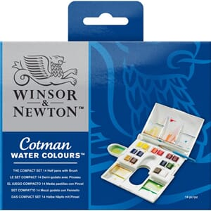 Winsor & Newton: Cotman Water Colour Compact Set