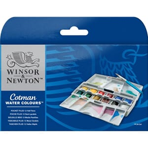 Winsor & Newton Cotman Water Colours Pocket Plus
