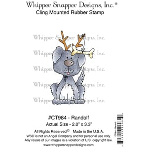 Whipper Snapper: Randolf Cling Stamp